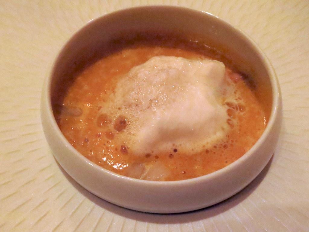 Kabocha squash soup, fennel, caramelized pumpkin seeds, tr…   Flickr