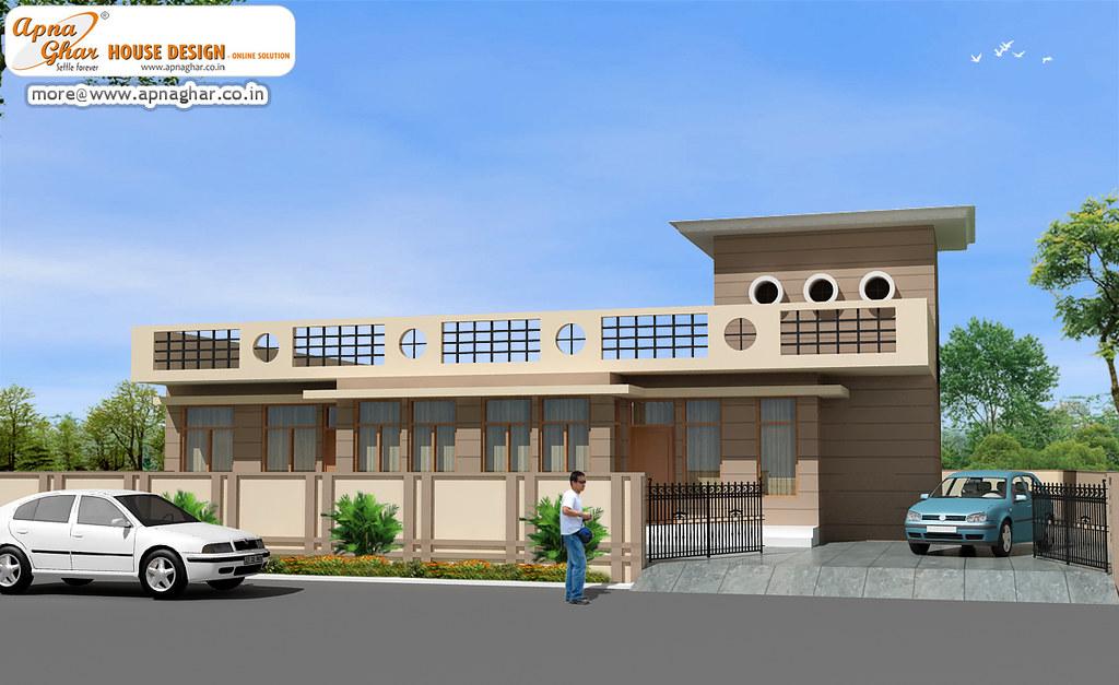 Single Floor House Design | Single Floor House Design in 360 ...
