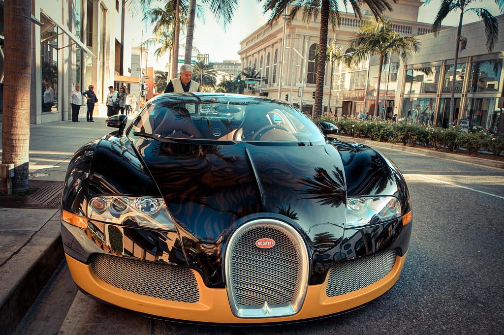 Bijans Bugatti Veyron Rodeo Drive Beverly Hills Los An