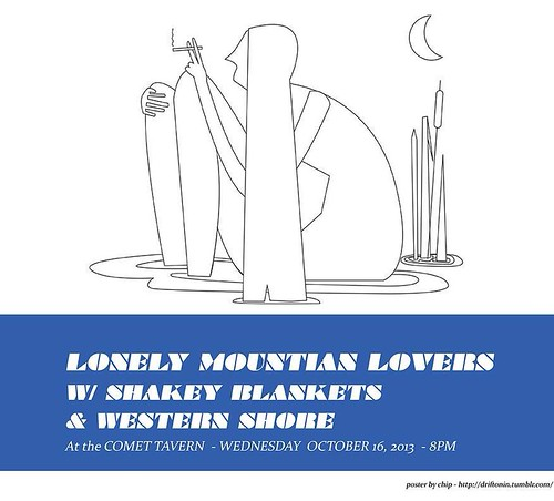 2013_10_16 Comet Tavern w Lonely Mtn Lovers and Western Shore