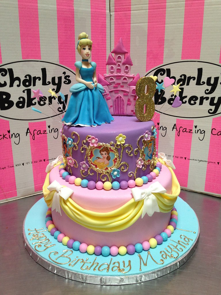 Cinderella Barbie Birthday Cakes