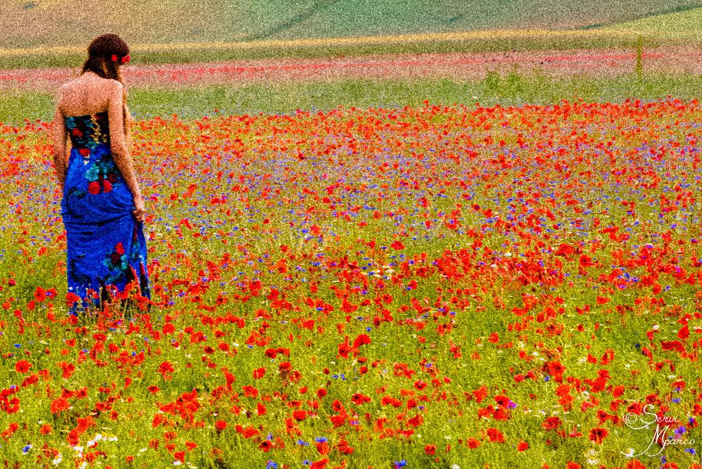 GirlI In The Flower