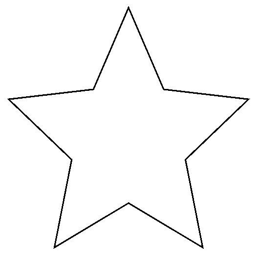 star | A simple star shape which you can print out instead