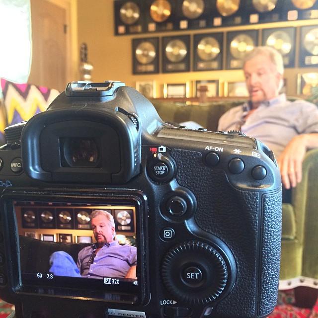 interview set up with paul riddle using arri lighting kit flickr. Black Bedroom Furniture Sets. Home Design Ideas