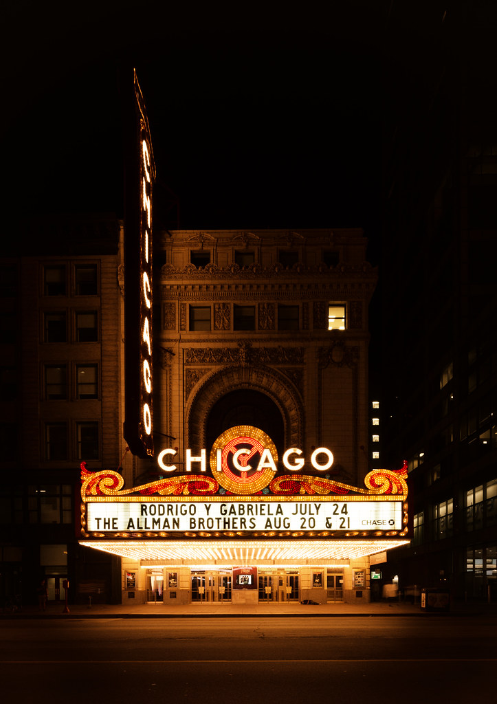 Chicago Theater Facade...