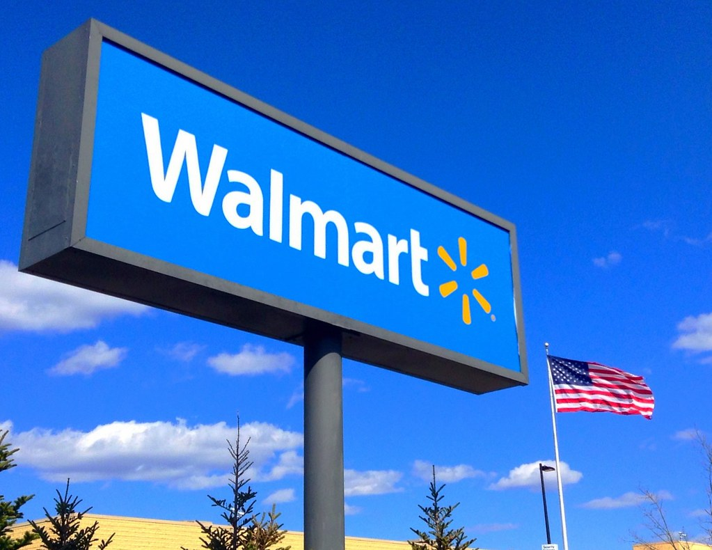 Outrage after Walmart puts 'own the school like a hero' sign above gun sale