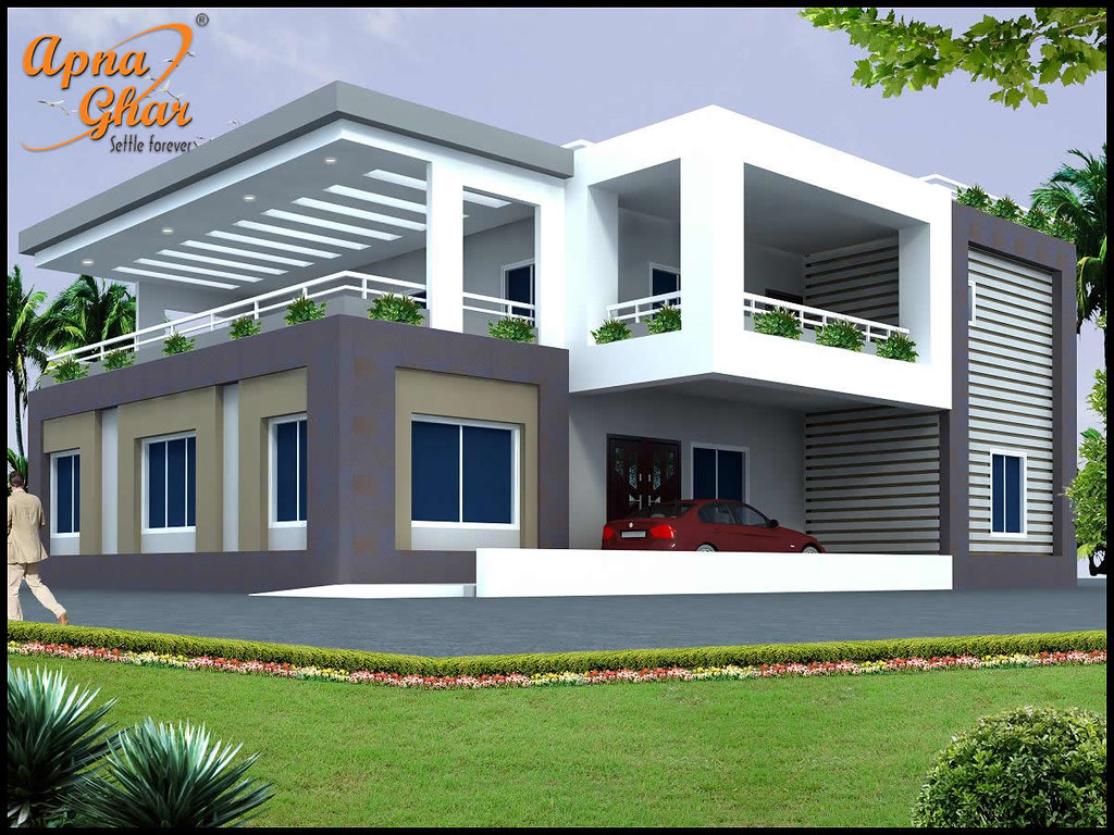 4 bedrooms duplex house design in 238m2 17m x 14m flickr - Free online home designer ...