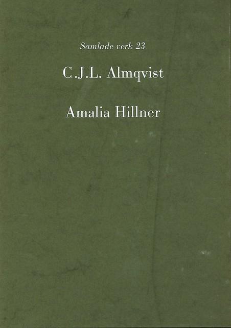 Amalia Hillner av Carl Jonas Love Almqvist