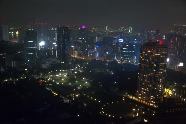 東京湾へ眺め