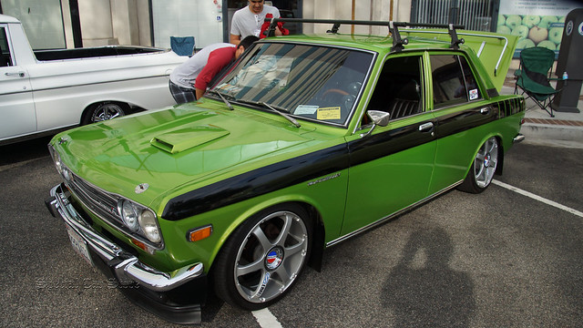 1970 Datsun 510 at the 21st Annual Glendale Cruise Night