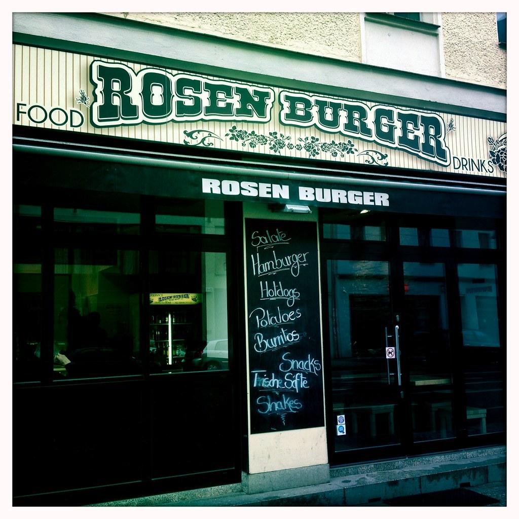 rosen burger rosenthaler platz berlin berlin germany. Black Bedroom Furniture Sets. Home Design Ideas
