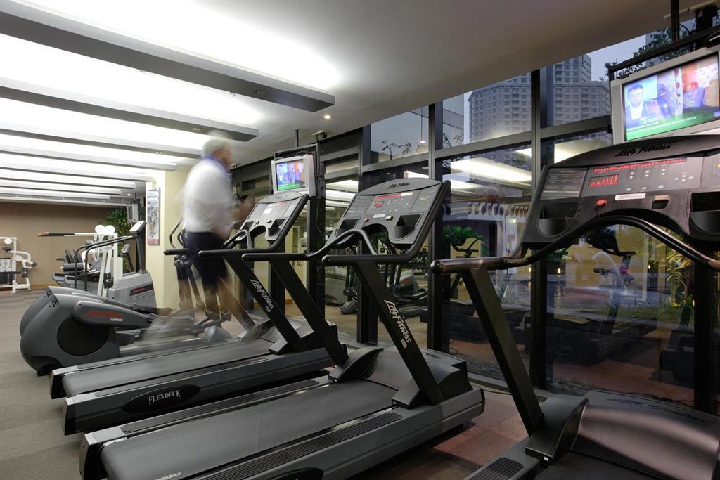 Plaza Athenee Bangkok A Royal Meridien Hotel Fitness Cent