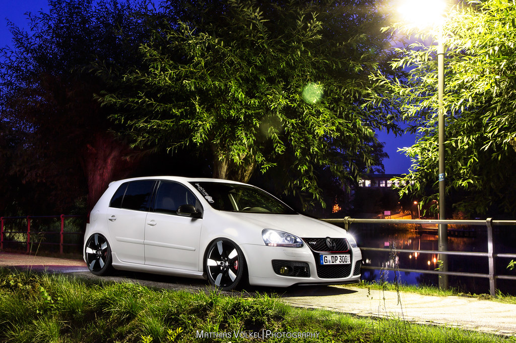 light painted volkswagen golf v gti ed30 visit like www flickr. Black Bedroom Furniture Sets. Home Design Ideas