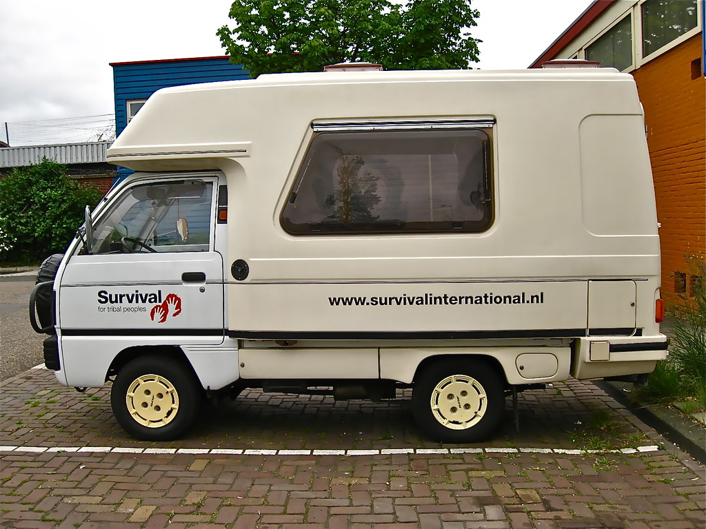 1988 Suzuki Carry Romahome Motorhome I Don T Know For