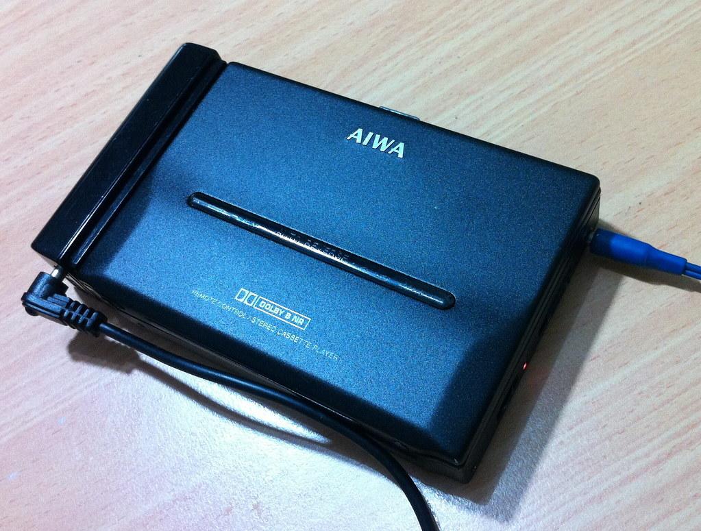 Aiwa Cassette Player Portable Cassette Player