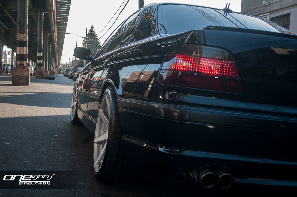 2001 Bmw E38 740il With Vertini Dynasty Wheels Installed