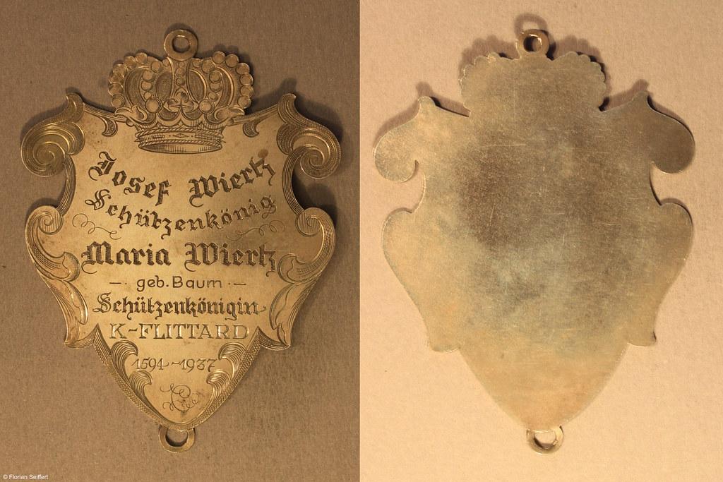 Koenigsschild Flittard von wiertz josef aus dem Jahr 1936