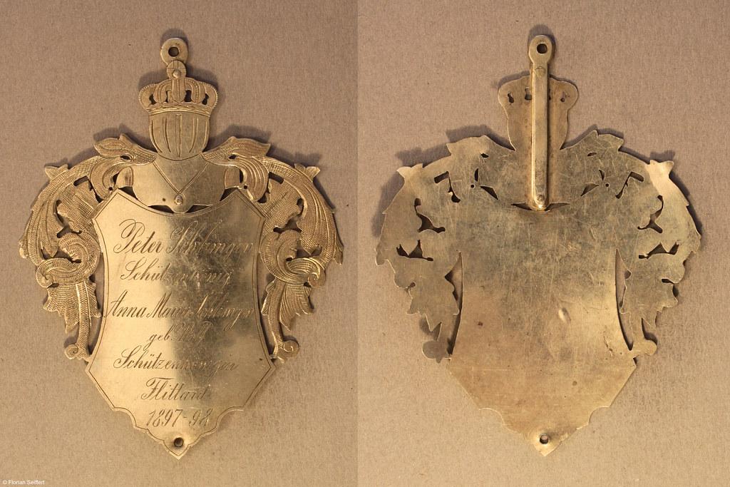 Koenigsschild Flittard von schlimgen peter aus dem Jahr 1897