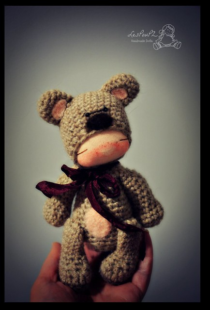 Titi Bear, by LesPouPZ Handmade Dolls