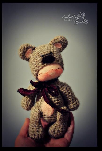 Titi Bear, by LesPouPZ Handmade Dolls