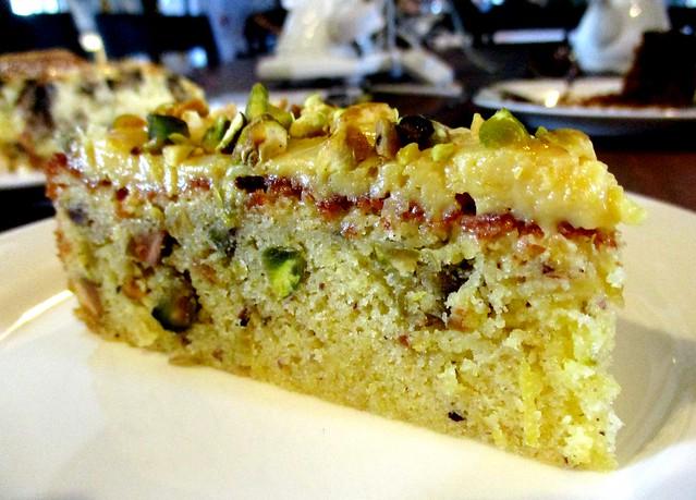China House lemon curd pistachio