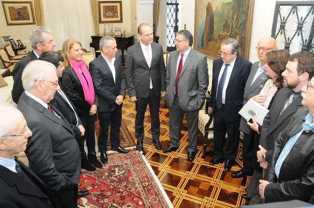 Encontro com o Governador de Santa Catarina, Raimundo Colombo SC