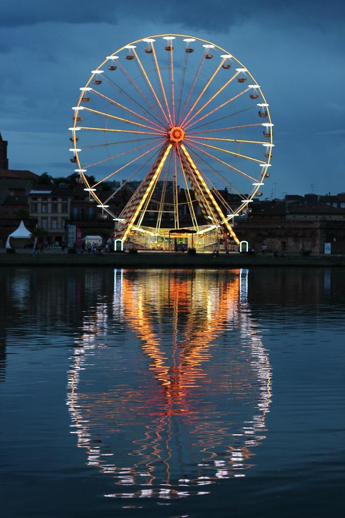 Toulouse Ferris Wheel Noria Rueda De La Fortuna Rue