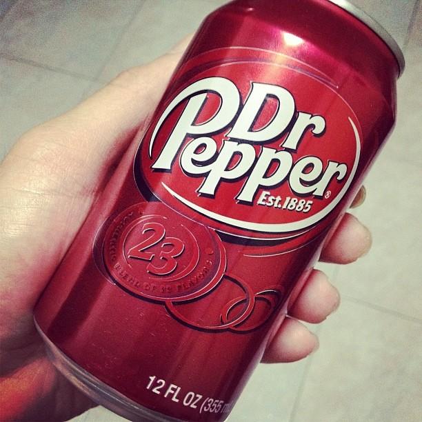 Dr Pepper Ice Cream Cake