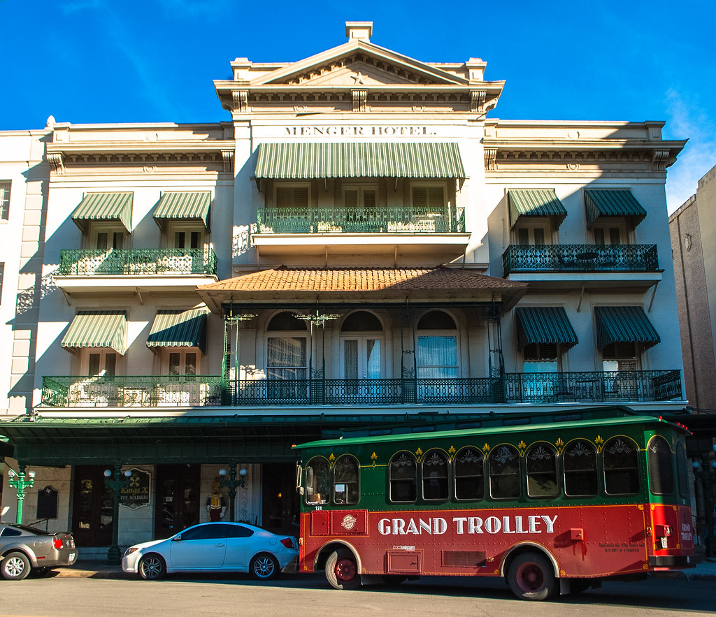 Haunted Abandoned Places In San Antonio: The Historic (and Haunted) Menger Hotel, San Antonio, TX