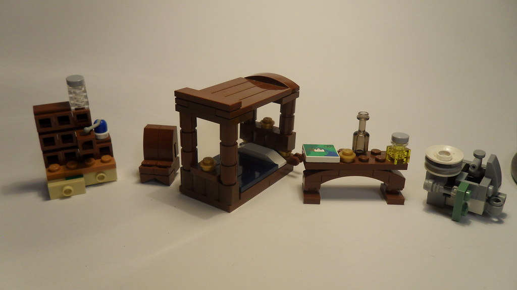 Lego Bag End Furniture These Are A Few Of The Items