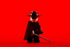 Zorro by kosbrickmix