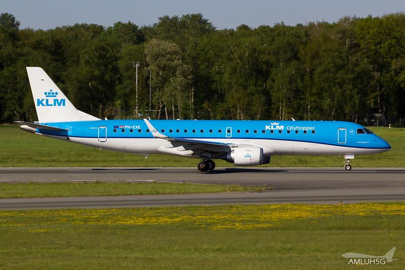 KLM - E190 - PH-EXE (1)