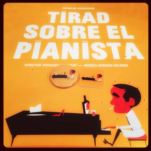 TIRAD SOBRE EL PIANISTA - LÁMINA, CHAPA Y PEGSTINA DE LASZLITO KOVACS PARA LA CAMPAÑA #liberaunatecla de @yagobelmondo
