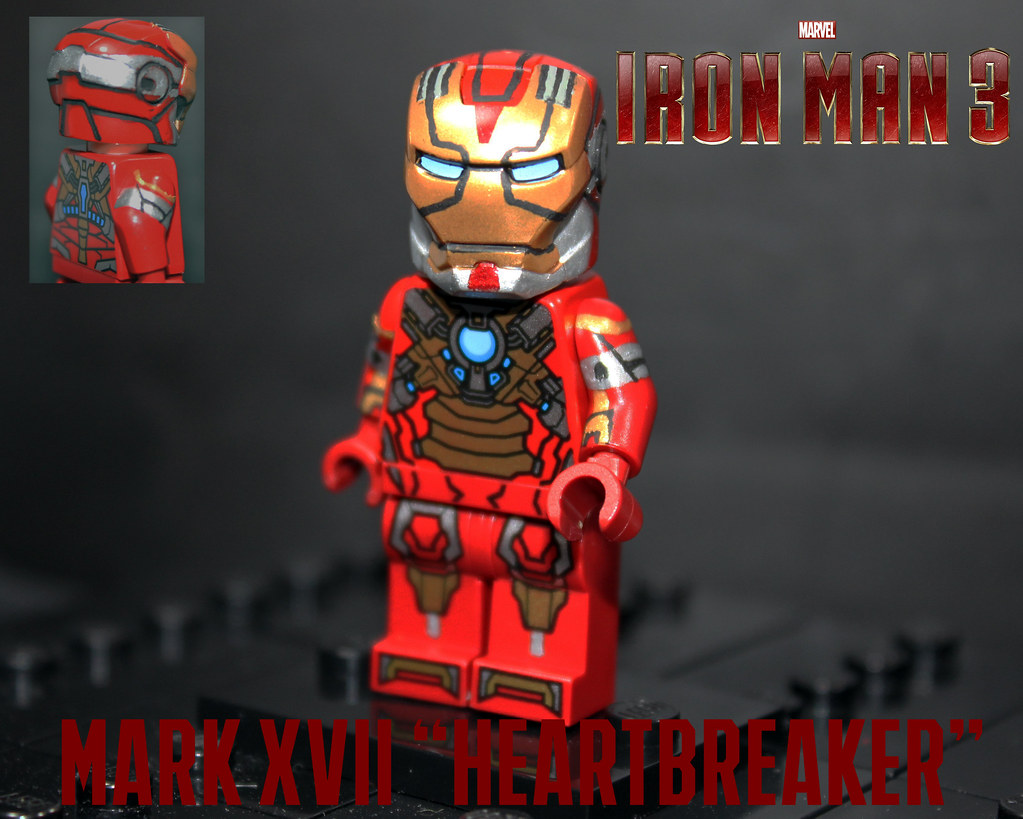 Upgraded lego iron man 3 heartbreaker suit started my - Lego iron man 3 ...