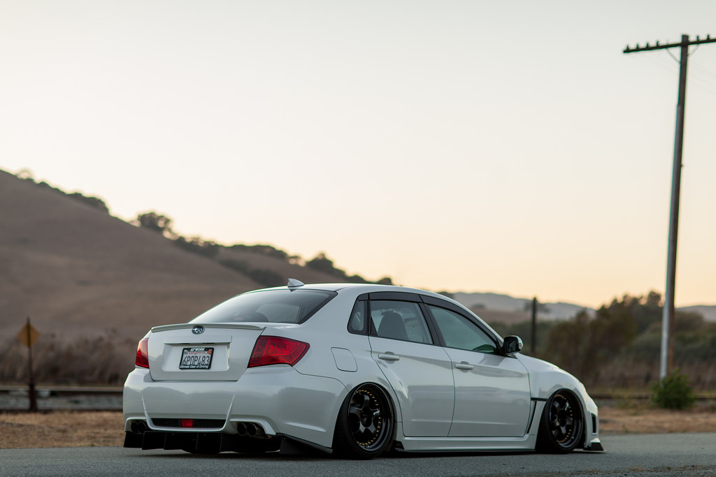 Bagged Subaru Wrx On Meister S1 Not My Photo Photo By