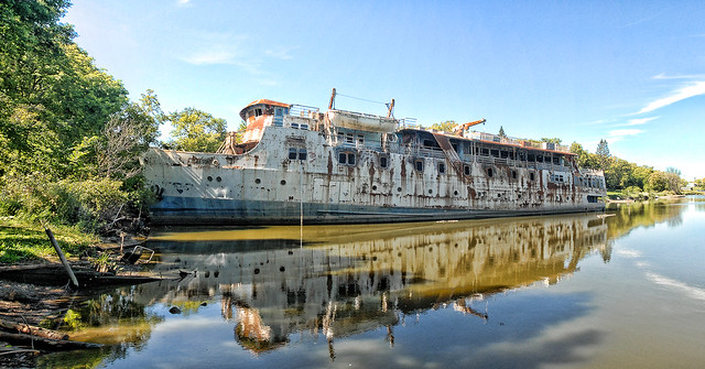 The Ms Lord Selkirk Ii Abandoned At The Selkirk Slough