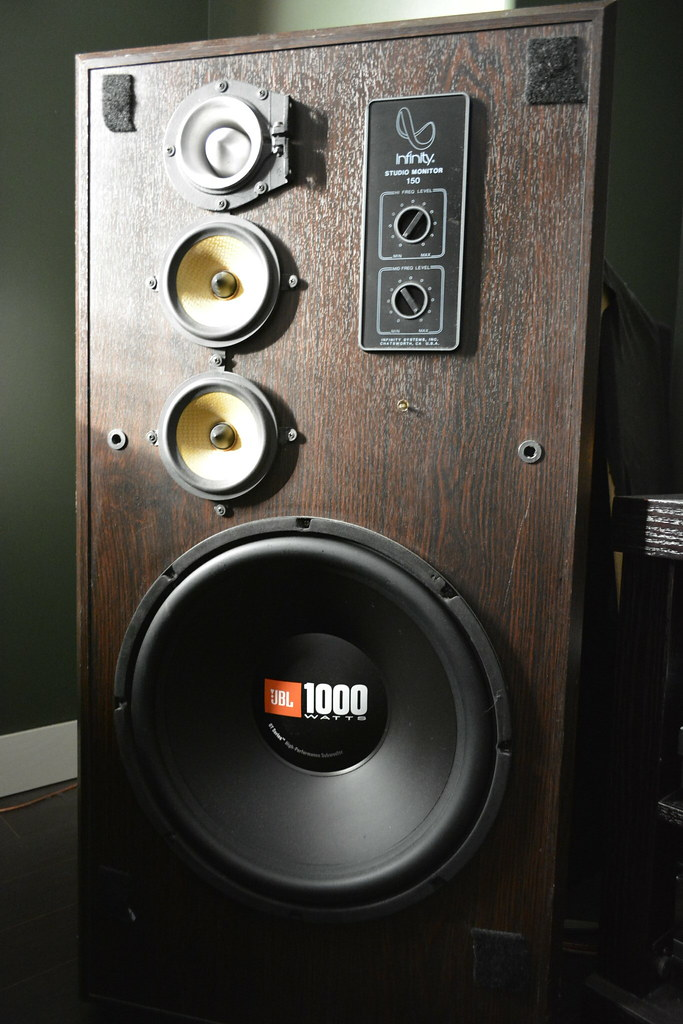 Infinity Studio Monitor 150 Speakers Quot Slightly Quot Modified