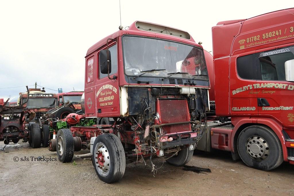 Volvo F10 Shirleys Transport Cellarhead S O T