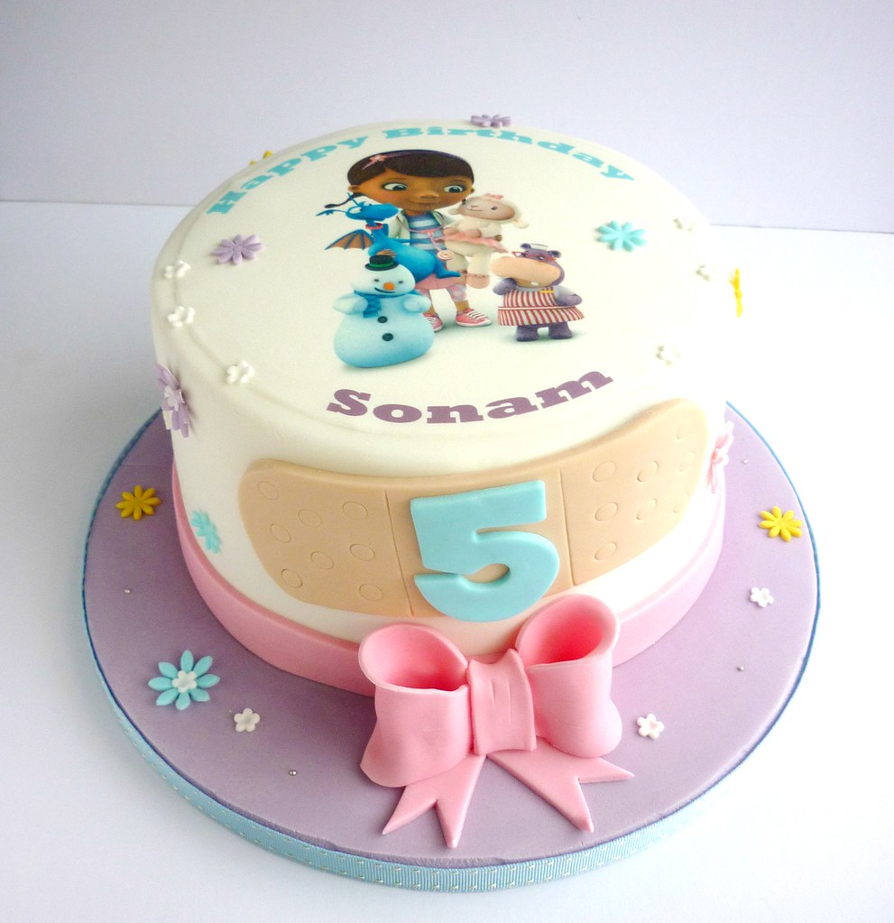 Doc Mcstuffins Birthday Cake Pan