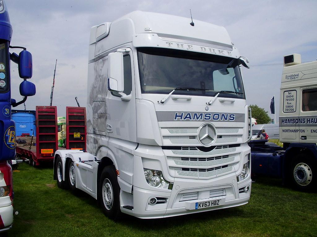 Hamsons Mercedes Actros Mp4 Euro 6 The Duke