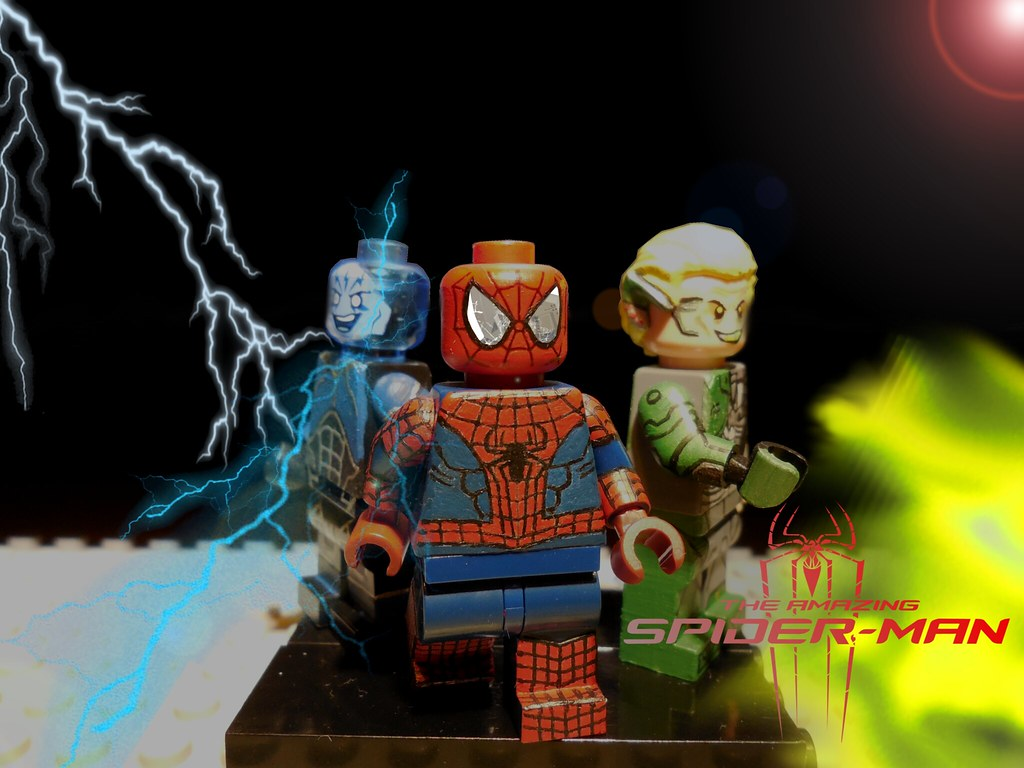 Lego the amazing spiderman 2 victor vincent flickr - Lego spiderman 2 ...