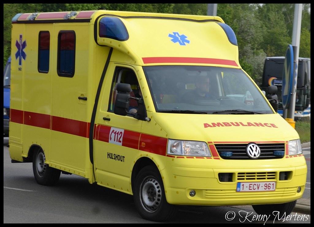 Had Hulshout Ambulance Ambulance Volkswagen