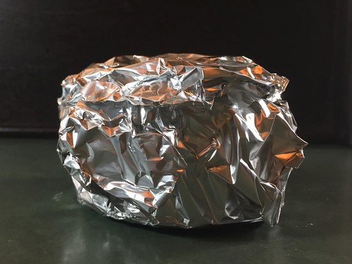 wrapped in foil