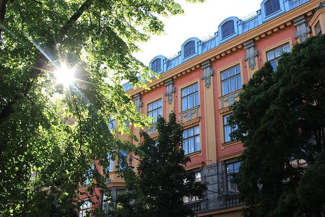 June Helsinki Sun
