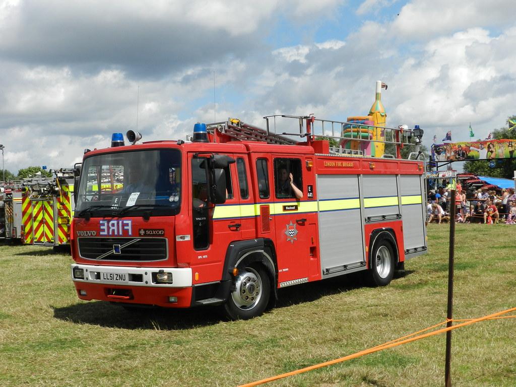 Ll51znu Volvo Fl6 Fire Engine Ex Hampshire Fire Brigade