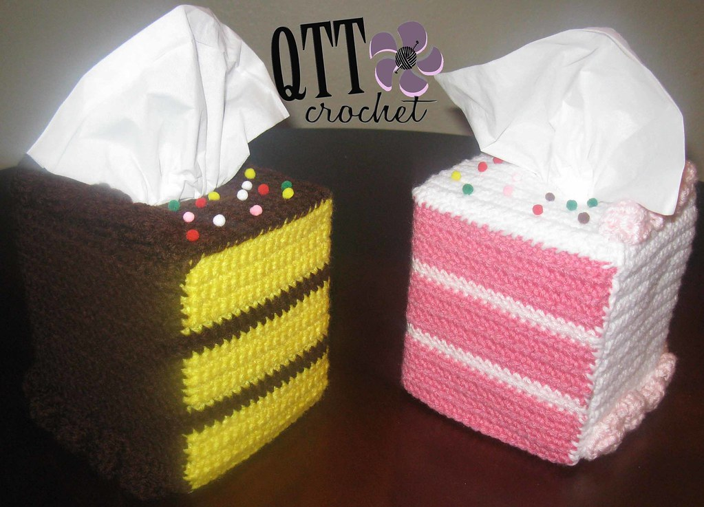 Crochet Cake Slice Pattern Free