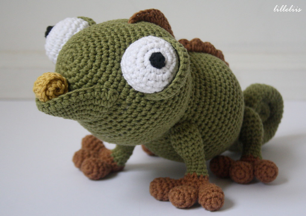 Amigurumi Halloween Free Patterns : Amigurumi chameleon Designs by Mari-Liis Lille Flickr