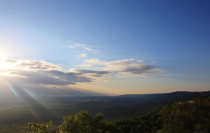 Алазанская долина вид из Сигнахи