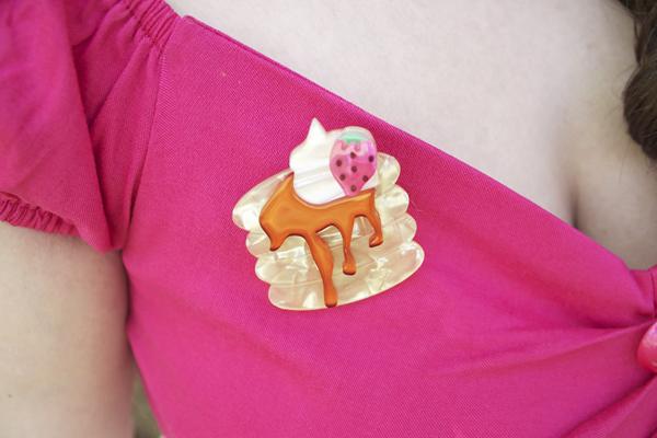 erstwilder pancake brooch