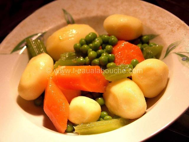 Saumon Poêlé & Moules à la Crème Petits Légumes © Ana Luthi Tous droits réservés 13